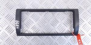 Декоративные пластиковые элементы салона Рамка бортового монитора BMW X5-series (E53)